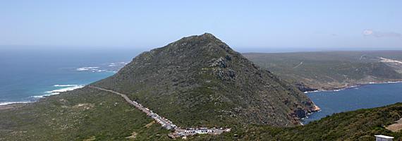 O Cabo da Boa Esperança, que dá nome à cidade