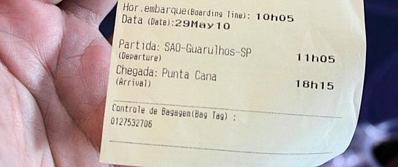 São Paulo-Caracas-Punta Cana