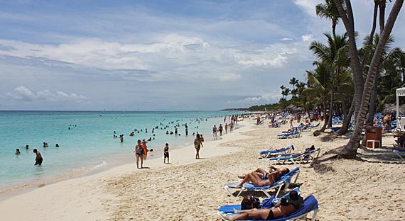 Praia em frente ao Gran Bahia Príncipe, Punta Cana
