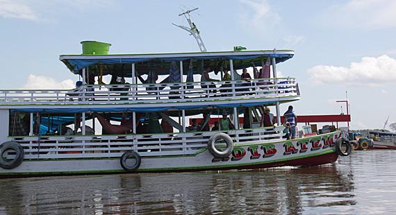 Rio Solimões, Amazonas