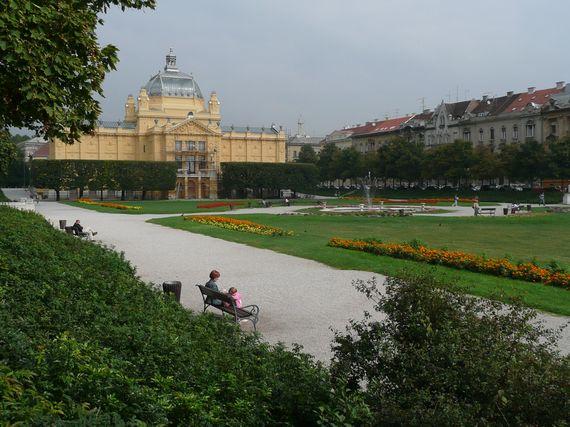 Zagreb - palácio