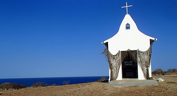 Igreja em Fernando de Noronha