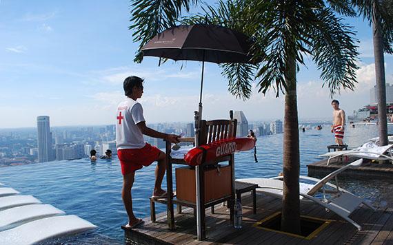 Piscina do Marina Bay Sands