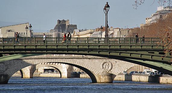 Paris vista do Batobus