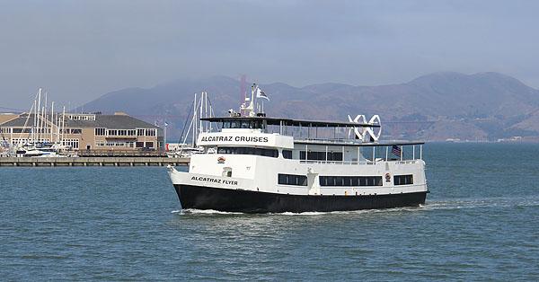 Ferry para Alcatraz