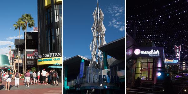 Três visões do CityWalk