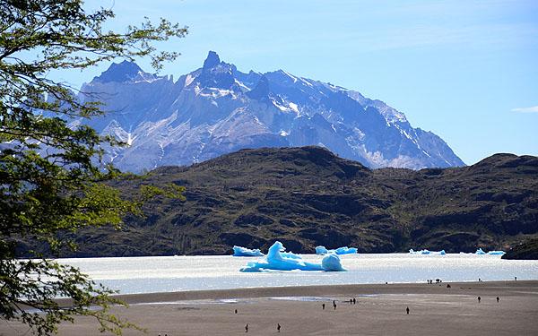 Passeio ao Glaciar Grey
