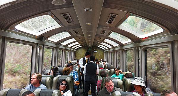 Primeira viagem ao Peru: trem Vistadome PeruRail