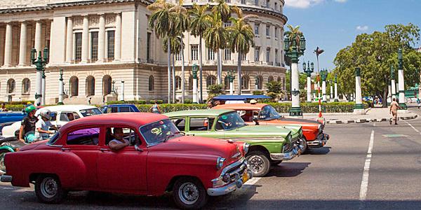 Cuba via Estados Unidos