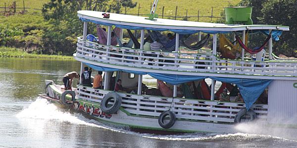 Manaus: como chegar de barco