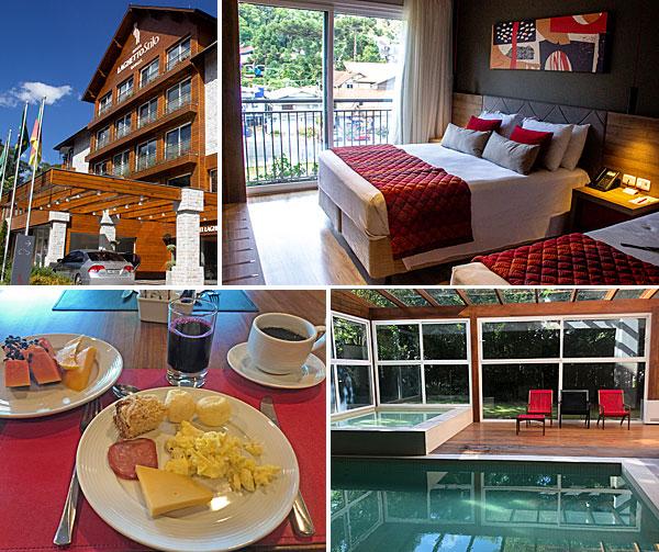 Hotéis em Gramado onde ficar: Laghetto Stilo Borges